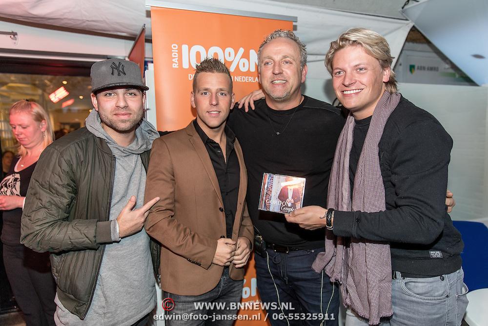 NLD/Blaricum/20161118 - Gordon presenteert nieuwe cd 'Gordon Compleet' , Hansen Thomas, Gordon, Thomas Berge, Wesley Klein