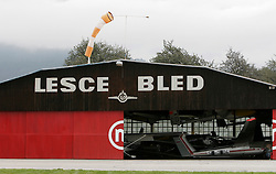Airport in Lesce, on September 21, 2005, in Lesce-Bled, Slovenia. (Photo by Vid Ponikvar / Sportal Images)