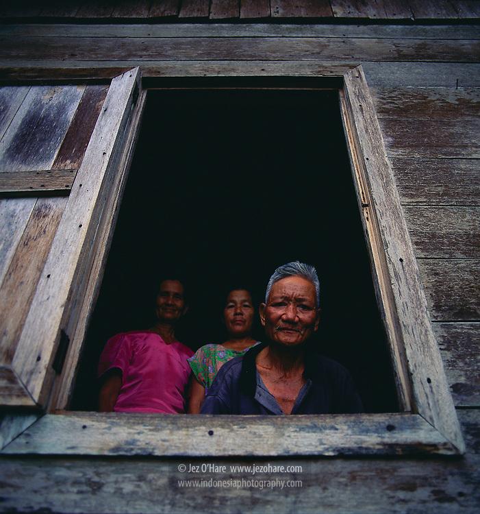 Dayak people, East Kalimantan, Indonesia