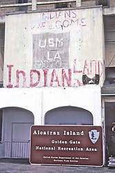 Writing From the American Indian Movement At Alcatraz Prison