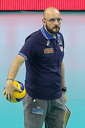 06.09.2014, Krakow Arena, Krakau, POL, FIVB WM, Puerto Rico vs Italien, Gruppe D, im Bild Trener Mauro Berruto (ITA) // during the FIVB Volleyball Men's World Championships Pool D Match beween Puerto Rico and Italy at the Krakow Arena in Krakau, Poland on 2014/09/06. EXPA Pictures © 2014, PhotoCredit: EXPA/ Newspix/ Tomasz Jastrzebowski<br /> <br /> *****ATTENTION - for AUT, SLO, CRO, SRB, BIH, MAZ, TUR, SUI, SWE only*****