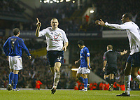 1/1/2005 - FA Barclays Premiership - Tottenham Hotspur v Everton - White Hart Lane<br />Tottenham Hotspur's Dean Marney celebrates his second goal of the match<br />Photo:Jed Leicester/Back Page Images