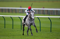 Mjjack ridden by jockey Clifford Lee on his way to winning the bet365 Handicap during day one of The Bet365 Craven Meeting at Newmarket Racecourse, Newmarket.