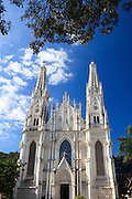Vitoria_ES, Brasil...Catedral Metropolitana no Centro Historico de Vitoria, Espirito Santo...Metropolitan Cathedral in the historical center in Vitoria, Espirito Santo...Foto: BRUNO MAGALHAES / NITRO