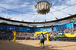 10.06.2016, Hamburg, Tennisstadion Rothenbaum<br /> FIVB World Tour 2016, smart Major Hamburg<br /> <br /> <br /> <br /> Foto: Conny Kurth / www.kurth-media.de