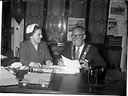 30/06/1959<br /> 06/30/1959<br /> 30 June 1959<br /> Lord Mayor of Dublin, Philip Brady at the Mansion House.
