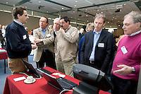 PAPENDAL - Demonstratie van het E-Golf4U handicap-registratiesysteem, tijdens het seminar EGA Handicapsysteem 2007-2010.