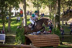 Vitkauskas Aistis (LIT) - Caffe E Latte <br /> Cross country  6 years old horses<br /> Mondial du Lion - Le Lion d'Angers 2014<br /> © Dirk Caremans<br /> 18/10/14