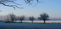 Trompenburgh Winter, koud, cold
