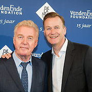 NLD/Amsterdam/20151123 - 5 jaar Delamar theater en 10 Jaar Van den Ende Foundation viering, Andre van Duin en partner Martin Elferink