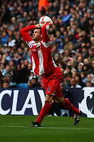Rory Delap of Stoke City takes a throw-in<br />Manchester City/Stoke City / 26.10.08 Premier League Photo: Andy Hone Fotosports International / 2008/09