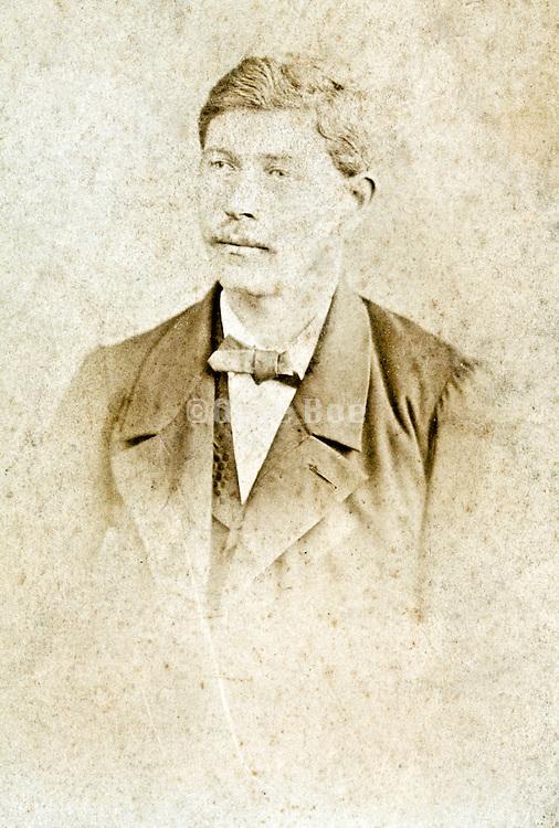 vintage studio portrait of man