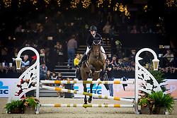 Hutse Rosa, BEL, La Folie Douce Van De Backersh<br /> Jumping Mechelen 2019<br /> © Hippo Foto - Sharon Vandeput<br /> 26/12/19