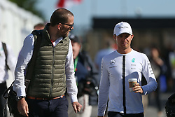 06.06.2015, Circuit Gilles Villeneuve, Montreal, CAN, FIA, Formel 1, Grand Prix von Kanada, Qualifying, im Bild Nico Rosberg (GER) Mercedes AMG F1 with his manager Georg Nolte (GER) // during Qualifyings of the Canadian Formula One Grand Prix at the Circuit Gilles Villeneuve in Montreal, Canada on 2015/06/06. EXPA Pictures © 2015, PhotoCredit: EXPA/ Sutton Images/ Mirko Stange<br /> <br /> *****ATTENTION - for AUT, SLO, CRO, SRB, BIH, MAZ only*****