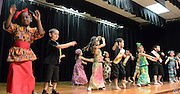 The Lyons Dance Club performs during a Black History Program at Lyons Elementary, February 19, 2014.