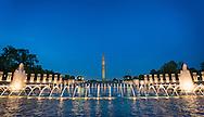 World War II Memorial in Washington DC, Maryland. Photo by Ben Krause