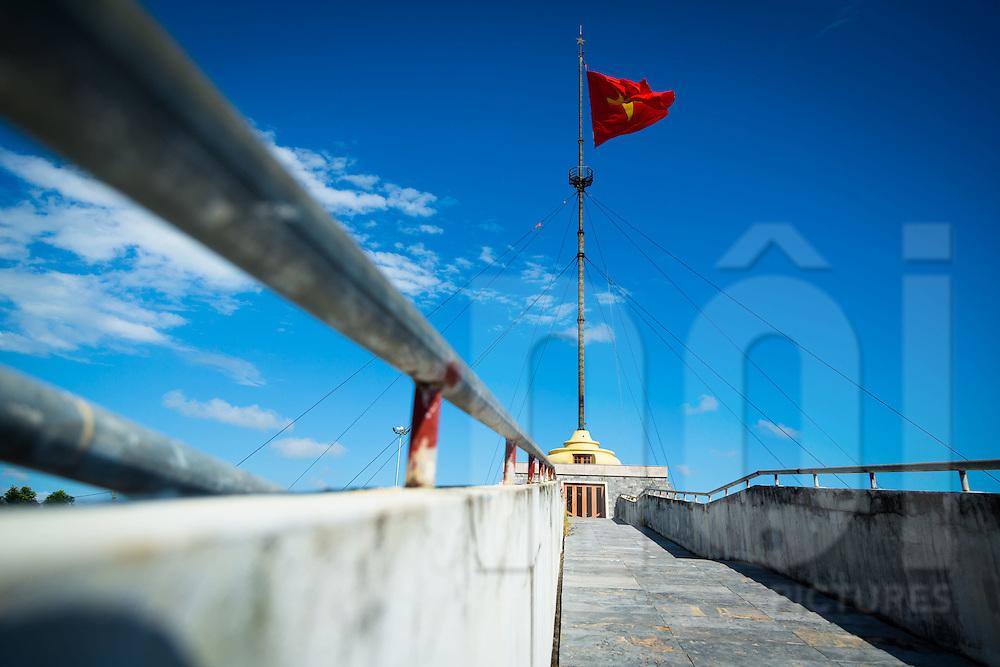 17th Parallel Memorial alonside the Ben Hai River near Hien Luong Bridge, DMZ, Quang Tri Province, Vietnam, Southeast Asia