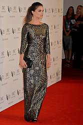 CHARLOTTE RILEY at the IWC Schaffhausen Gala Dinner in honour of the British Film Institute held at the Battersea Evolution, Battersea Park, London on 7th October 2014.