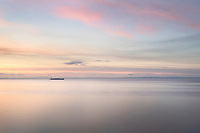 Bellingham Bay during twilight afterglow