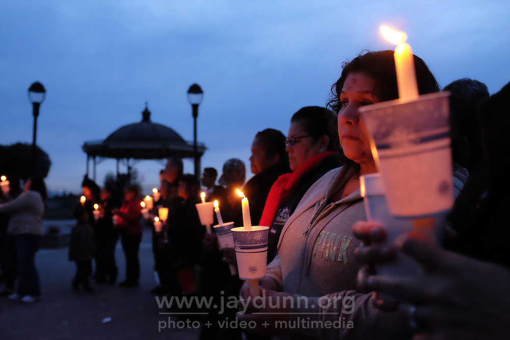 Families gathered together at Closter Park on Saturday to remember their loved ones at the Tree of Life candlelight vigil.