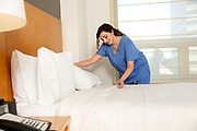 Nurse Making the Bed