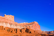 Afternoon light on The Castle, Capitol Reef National Park, Utah