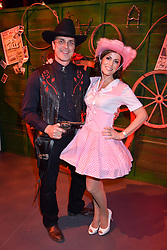 Natasha Kaplinsky  and Justin Bower at the Save The Children's Night of Country at The Roundhouse, London England. 2 March 2017.