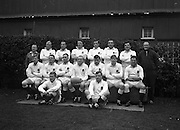 Irish Rugby Football Union, Ireland v England, Five Nations, Landsdowne Road, Dublin, Ireland, Saturday 9th February, 1963,.9.2.1963, 2.9.1963,..Referee- H B Laidlaw, Scottish Rugby Union, ..Score- Ireland 0 - 0 England, ..English Team, ..J G Willcox, Wearing number 15 English jersey, Full Back, Oxford University Rugby Football Club, Oxford, England,..J Roberts, Wearing number 11 English jersey, Left Wing, Sale Rugby Football Club, Manchester, England,..M P Weston, Wearing number 12 English jersey, Left Centre, Durham Rugby Football Club, Durham, England,..M S Phillips, Wearing number 13 English jersey, Right centre, Fylde Rugby Football Club, Lancashire, England,..P B Jackson, Wearing number 14 English jersey, Right Wing, Coventry Rugby Football Club, Coventry, England, ..R A W Sharp, Wearing number 10 English jersey, Captain of the English team, Stand Off, Wasps Rugby Football Club, London, England, ..S J S Clarke, Wearing number 9 English jersey, Scrum Half, Cambridge University Rugby Football Club, Cambridge, England,..N J Drake-Lee, Wearing number 1 English jersey, Forward, Cambridge University Rugby Football Club, Cambridge, England,..J D Thorne, Wearing number 2 English jersey, Forward, Bristol Rugby Football Club, Bristol, England, ..B A Dovey, Wearing number 3 English jersey, Forward, Rosslyn Park Rugby Football Club, London, England,..A M Davis, Wearing number 4 English jersey, Forward, Torquay Athletic Rugby Football Club, Torquay, England,..J E Owen, Wearing number 5 English jersey, Forward, Coventry Rugby Football Club, Coventry, England, ..D P Rogers, Wearing number 7 English jersey, Forward, Bedford Rugby Football Club, Bedford, England,  ..B J Wightman, Wearing number 8 English jersey, Forward, Coventry Rugby Football Club, Coventry, England,..D C Manley, Wearing number 6 English jersey, Forward, Exeter Rugby Football Club, Devon, England,