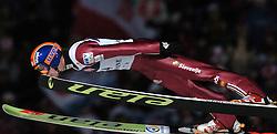 n/z.: Zwyciezca Rok Urbanc (nr14-Slowenia) podczas konkursu Pucharu Swiata w skokach narciarskich w Zakopanem.  Puchar Swiata skoki narciarskie , Polska , Zakopane , 20-01-2007 , fot.: Adam Nurkiewicz / mediasport..Winner Rok Urbanc (nr14-Slovenia) during competition ski jumping FIS World Cup in Zakopane in Poland. January 20, 2007 ;  ski jumping ; Poland , Zakopane ( Photo by Adam Nurkiewicz / mediasport )