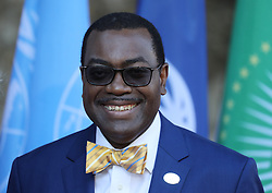 27.05.2017, Taormina, ITA, 43. G7 Gipfel in Taormina, im Bild Akinwumi Adesina, President of African Development Bank // Akinwumi Adesina, President of African Development Bank during the 43rd G7 summit in Taormina, Italy on 2017/05/27. EXPA Pictures © 2017, PhotoCredit: EXPA/ SM<br /> <br /> *****ATTENTION - OUT of GER*****