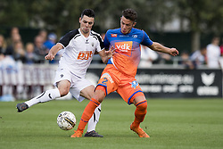 June 22, 2018 - Oostakker, BELGIUM - Gent's player Matias Lloci fight for the ball during a friendly game, the first of the new season 2018-2019 for KAA Gent, between KRC Gent and KAA Gent, in Oostakker, Friday 22 June 2018. BELGA PHOTO JASPER JACOBS (Credit Image: © Jasper Jacobs/Belga via ZUMA Press)