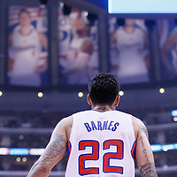 21 April 2014: Los Angeles Clippers forward Matt Barnes (22) is seen during the Los Angeles Clippers 138-98 victory over the Golden State Warriors, during Game Two of the Western Conference Quarterfinals of the NBA Playoffs, at the Staples Center, Los Angeles, California, USA.