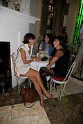 ANNALISA ASTARITA; CARLA ROSSI; SADIE FROST, , The Town That Boars Me launch. Beach Blanket Babylon. Ledbury Rd. London. 27 August 2008 *** Local Caption *** -DO NOT ARCHIVE-© Copyright Photograph by Dafydd Jones. 248 Clapham Rd. London SW9 0PZ. Tel 0207 820 0771. www.dafjones.com.