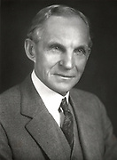 Henry Ford (1863-1947) American engineer and automobile manufacturer. Credit: Ford/World History Archive.