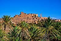 Maroc, Haut-Atlas, aux environs de Ouarzazate, kasbah de Tifoultoute // Morocco, High Atlas, near Ouarzazate, Tifoultoute Kasbah