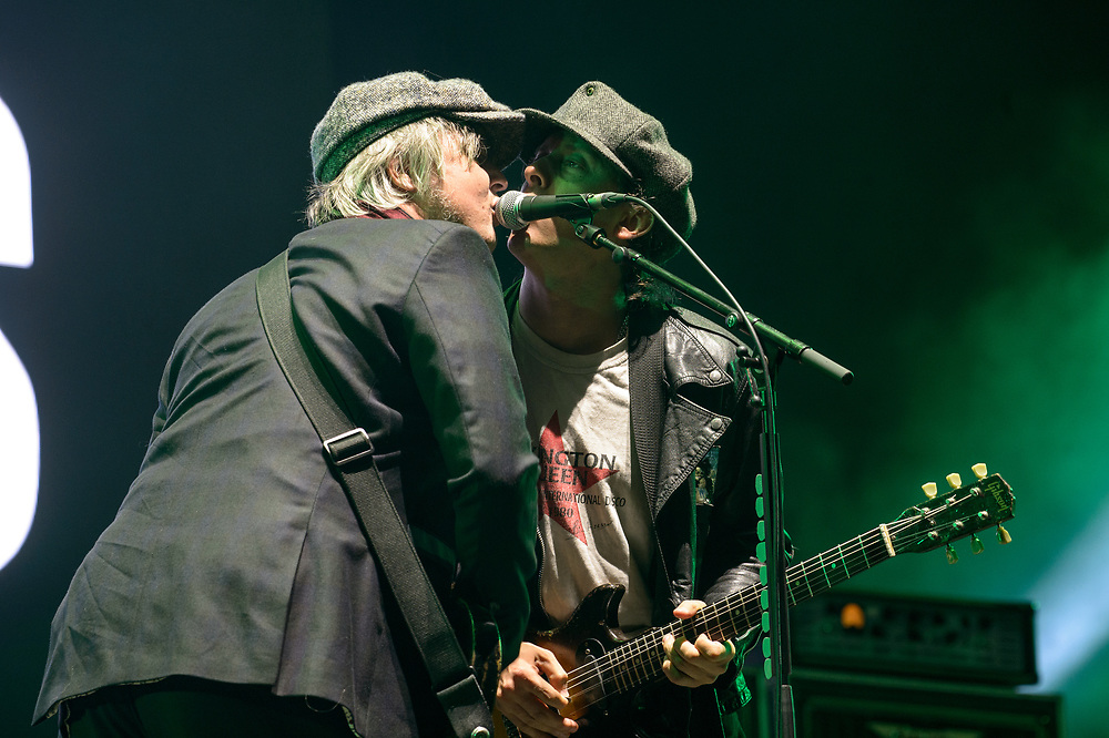 The Libertines fronted by controversial front man Pete Doherty headline day 1 of Playground Festival 2021