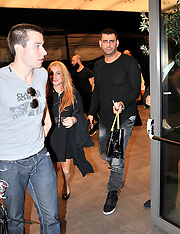 Istanbul: Lindsay Lohan Signs With B4L Company - 27 Sep 2016
