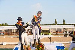 Podium senioren, Roos Laurence, Heylen Tom <br /> Belgisch Kampioenschap) - Hulsterlo -Meerdonk 2019<br /> © Hippo Foto - Leanjo de Koster<br /> 10/08/2019