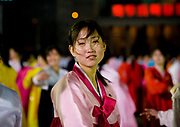 Fashion in North Korea<br /> <br /> In every corner of the earth, women love to look beautiful and keep up with the latest fashion trends. The women of North Korea are no different. Fashion is taken seriously here. But in North Korea, women do not read Elle or Vogue; they just glimpse a few styles by watching TV or by observing the few foreigners who come to visit. In the hermit kingdom, clothing also reflects social status. If you have foreign clothes it means you travel and are consequently close to the centralized power. Chinese products have inundated the country, adding some color to the traditional outfits that were made of vynalon fiber. But citizens beware, too much style means you're forgetting the North Korean juche, the ethos of self-reliance that the country is founded on! But the youth tend to neglect it despite the potential consequences.<br /> <br /> Photo shows: Many say that with the influence of the South Korean culture through the media, many women have started to undergo surgery to widen their eyes. The surgery includes an incision on the upper lid of skin, removing excess skin or adjusting tissue and muscles to get the desired look.<br /> ©Eric Lafforgue/Exclusivepix Media