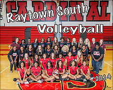 Raytown South Volleyball Team & Individual, September 2014