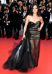 Michelle Rodriguez attending the Solo: A Star Wars Story premiere at the 71st Cannes Film Festival