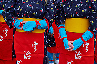 Japon, île de Honshu, région de Kansaï, Uji, fête pour la premiere cueillette de printemps du thé Sencha // Japan, Honshu island, Kansai region, Uji, festival for the spring first flush of Sencha tea