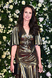 Andie Macdowell arriving at the Charles Finch Filmmakers Dinner, Eden Rock, Hotel du Cap during the 72nd Cannes Film Festival. Photo credit should read: Doug Peters/EMPICS