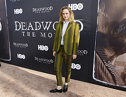 May 14, 2019 - Los Angeles, CA, USA - Los Angeles, CA - MAy 14:  Fiona Dourif attends the Los Angeles Premiere of HBO's 'Deadwood' at Cinerama Dome on May 14 2019 in Los Angeles CA. Credit: CraSH/imageSPACE (Credit Image: © Imagespace via ZUMA Wire)