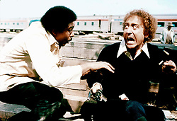 GENE WILDER, (born Jerome Silberman, June 11, 1933 - August 28, 2016) was an American stage and screen comic actor, screenwriter, film director, and author. He was known best for the lead role in the 1971 film 'Willy Wonka in Willy Wonka & the Chocolate Factory,' and the Mel Brooks comedies 'Blazing Saddles', and 'Young Frankenstein', which Wilder co-wrote, garnering the pair an Academy Award nomination for Best Adapted Screenplay. Wilder died at age 83 from complications from Alzheimer's disease. PICTURED: RICHARD PRYOR and GENE WILDER in a scene from the 1976 crime, action, comedy 'Silver Streak.' (Credit Image: © Courtesy of 20th Century Fox/Entertainment Pictures/ZUMAPRESS.com)