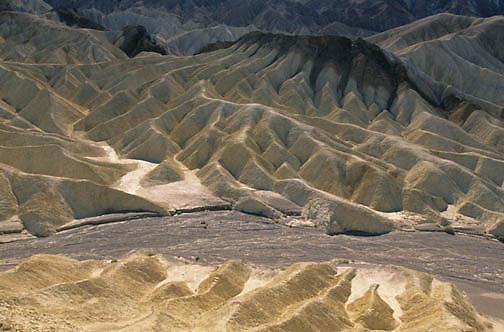 Death Valley National Park. Zabriskie Point. California.