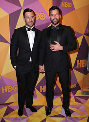 07 January 2018 - Beverly Hills, California - Jwan Yosef, Ricky Martin. 2018 HBO Golden Globes After Party held at The Beverly Hilton Hotel in Beverly Hills. Photo Credit: Birdie Thompson/AdMedia
