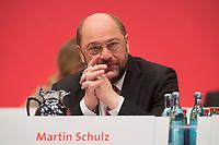 15 NOV 2013, LEIPZIG/GERMANY:<br /> Martin Schulz, SPD, Praesident des Europaeischen Parlaments, SPD Bundesparteitag, Leipziger Messe<br /> IMAGE: 20131115-01-072<br /> KEYWORDS: Party Congress, Parteitag