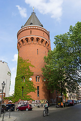 DTK Wasserturm historical brick watertower now theatre in Kreuzberg Berlin Germany