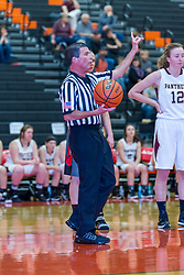 29 December 2015:  Peoria Christian Chargers v El Paso Gridley Titans.  Officials for the game - Bob Clayton, Don Taylor, Ken Nelson.  State Farm Holiday Classic Coed Basketball Tournament at Normal Community High School, Normal Illinois- Day 2 Small School Girls